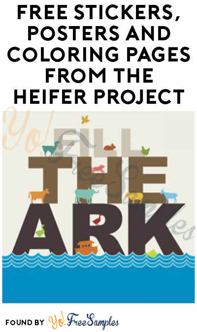FREE Stickers, Posters and Coloring Pages from The Heifer Project