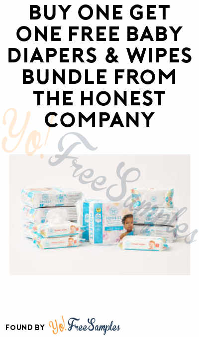 DEAL ALERT: BOGO Baby Diapers & Wipes Bundle from Honest Company (Purchase Required)