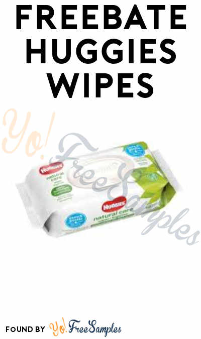 FREEBATE Huggies Wipes (Fetch Rewards App Required)