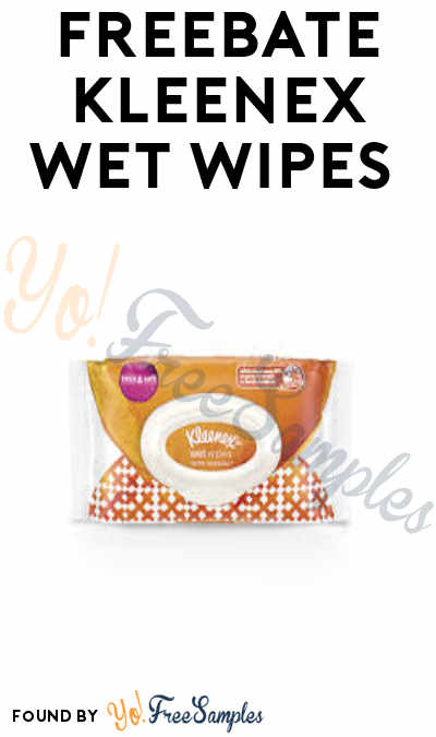 FREEBATE Kleenex Wet Wipes (Fetch Rewards App Required)