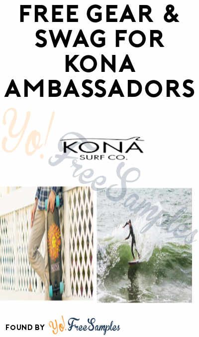 FREE Gear, Swag and Prize Opportunities for Kona Ambassadors (Must Apply)