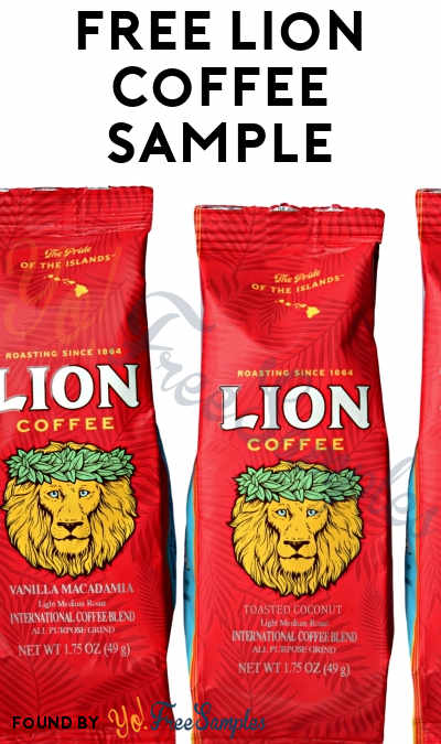 FREE Lion Coffee Sample (California Only) [Verified Received By Mail]