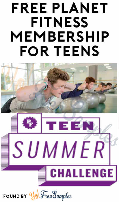 FREE Planet Fitness Membership for Teens (Ages 15-18 Only)