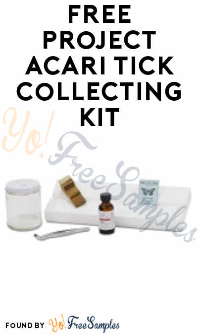 FREE Project Acari Tick Collecting Kit