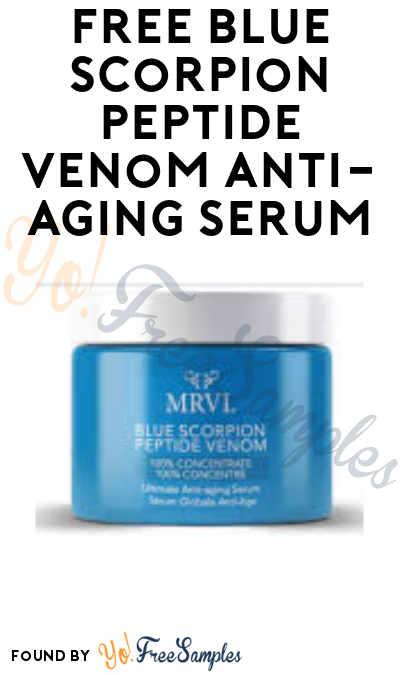 Nearly FREE Blue Scorpion Peptide Venom Anti-Aging Serum ($3 Shipping)