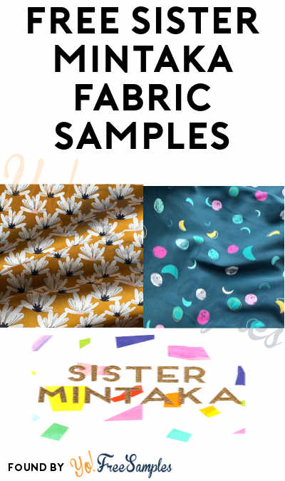 FREE Sister Mintaka Fabric Samples
