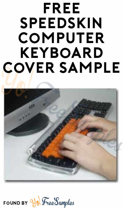 FREE SpeedSkin Computer Keyboard Cover Sample (Schools Only)