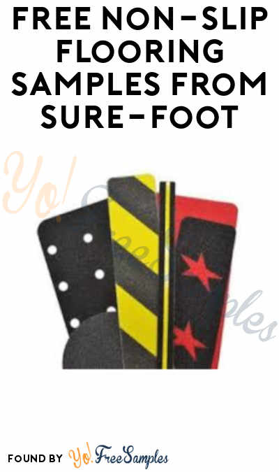 FREE Non-Slip Flooring Samples from Sure-Foot (Company Name Required)