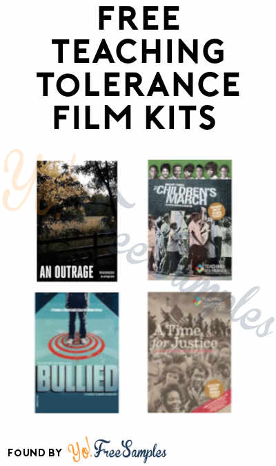 FREE Teaching Tolerance Film Kits (Schools Only)
