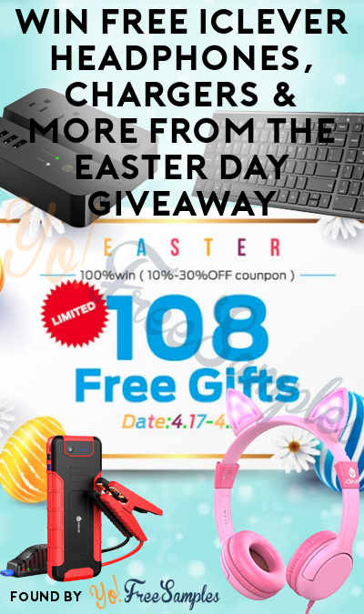 Win FREE iClever Headphones, Chargers & More From The Easter Day Giveaway