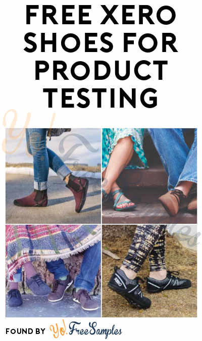 FREE Xero Shoes for Product Testing (Must Apply)