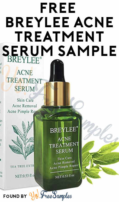 LIKELY FAKE! Possible FREE Breylee Acne Treatment Serum Sample