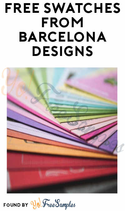 FREE Swatches from Barcelona Designs