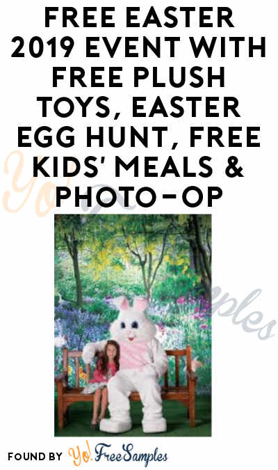 FREE Easter 2019 Event with Free Plush Toys, Easter Egg Hunt, Free Kids' Meals & Photo-Op at Bass Pro Shops