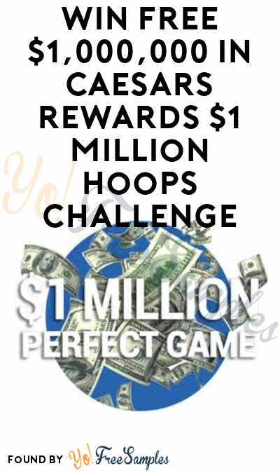 Win FREE Fanbeat T-Shirts, Cash, A Trip To Vegas & More From The Caesars Rewards $1 Million Hoops Challenge
