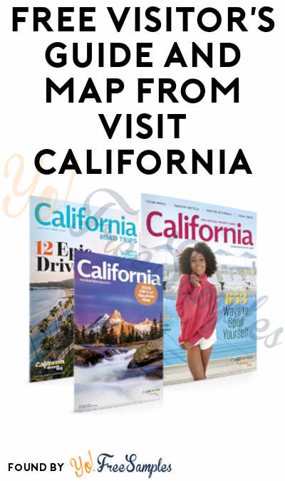 FREE Visitor's Guide and Map from Visit California