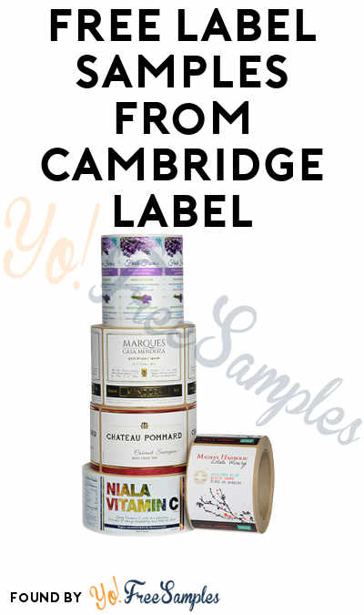 FREE Label Samples from Cambridge Label
