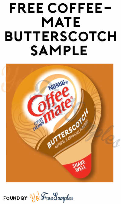FREE Coffee-mate Butterscotch Creamer Sample (Food Service Operators Only)