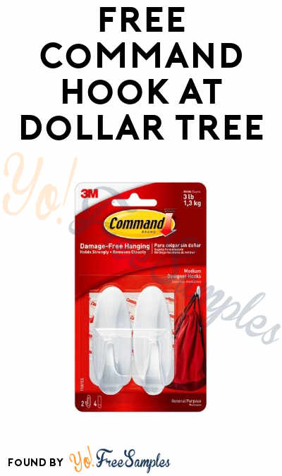 FREE Command Hook at Dollar Tree (Coupon Required)