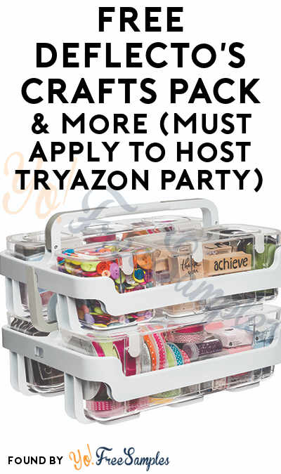 FREE Deflecto's Crafts Pack & More (Must Apply To Host Tryazon Party)