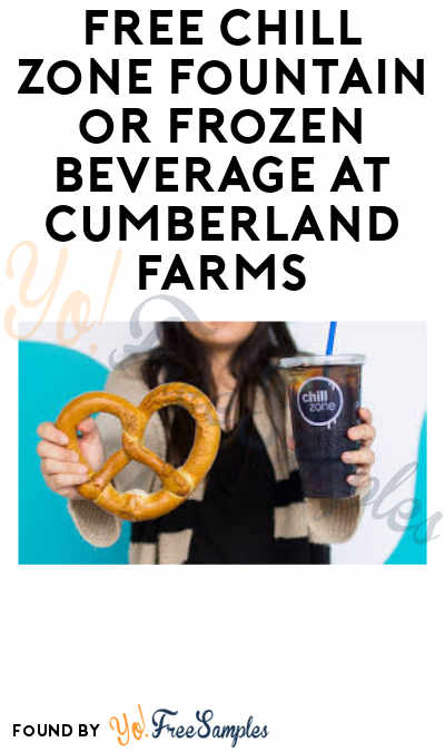 FREE Chill Zone Fountain or Frozen Beverage With Pretzel Purchase at Cumberland Farms on 4/26