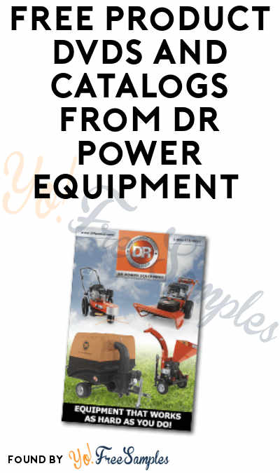 FREE Product DVDs and Catalogs from DR Power Equipment
