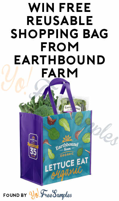 Win FREE Reusable Shopping Bag from Earthbound Farm
