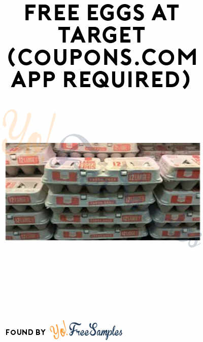 FREE Eggs at Target (Coupons.com App + PayPal Required)
