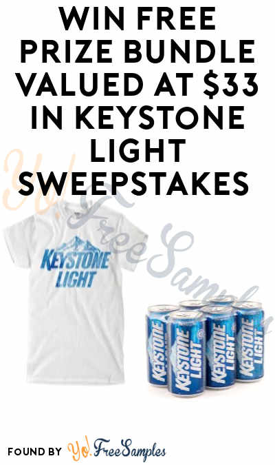 Enter Daily: Win FREE Prize Bundle Valued at $33 in MillerCoors Keystone Light Spring Renter Sweepstakes (Ages 21+)