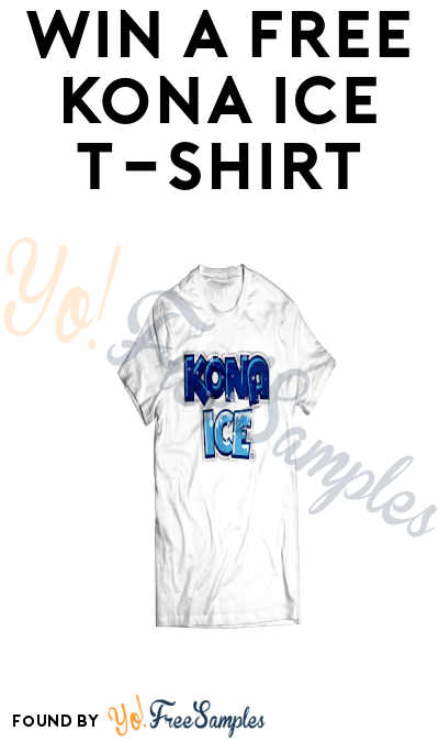 Win A FREE Kona Ice T-Shirt