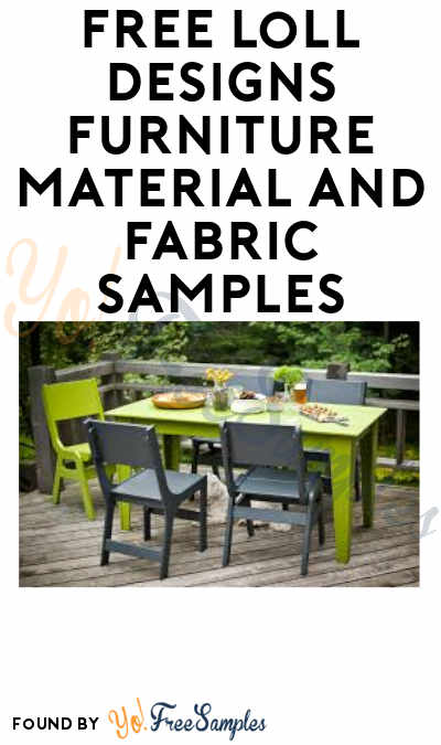 FREE Loll Designs Furniture Material and Fabric Samples