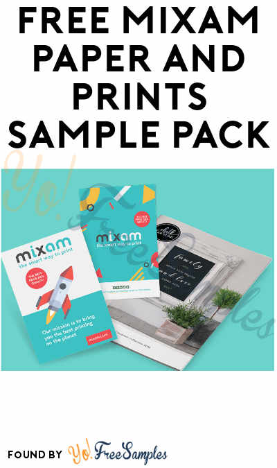 FREE Mixam Paper and Prints Sample Pack
