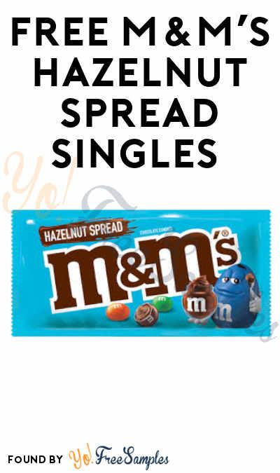 FREE M&M'S Hazelnut Spread Singles (myBigY App Required)