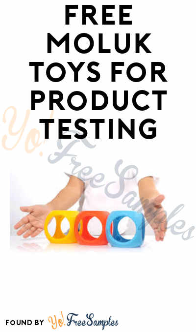 Possible FREE MOLUK Toys for Product Testing (Entry Required)