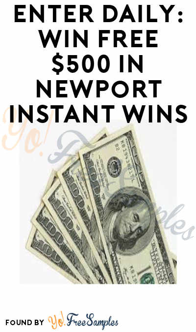 Enter Daily: Win FREE $500 in Newport Payday Scratch Off Instant Win Games (21+)