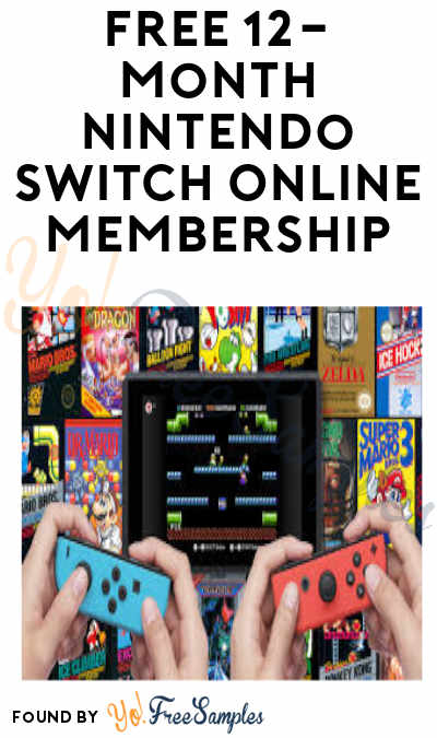 FREE 12-Month Nintendo Switch Online Membership for Twitch & Amazon Prime Members (Credit Card Required)