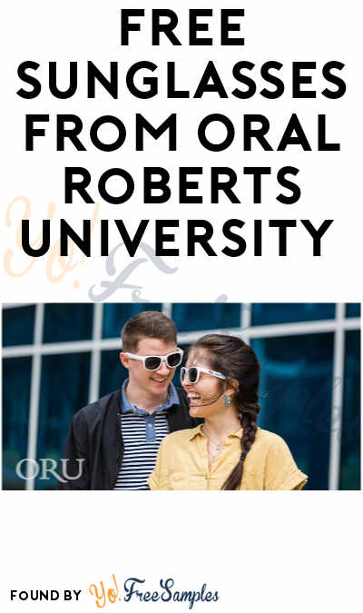 FREE Sunglasses From Oral Roberts University (Facebook Required)