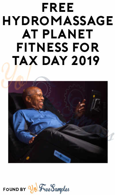 FREE HydroMassage at Planet Fitness for Tax Day 2019 (Coupon Required)
