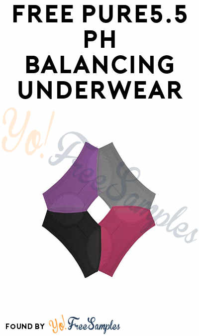 Possible FREE Pure5.5 pH Balancing Underwear (Extremely Personal Survey Questions) [Verified Received By Mail]