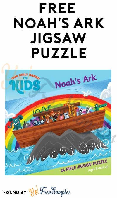 FREE Noah's Ark Jigsaw Puzzle