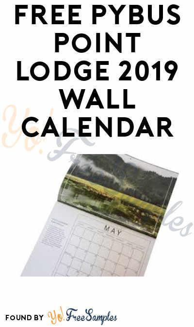FREE Pybus Point Lodge 2019 Wall Calendar
