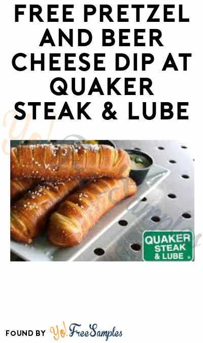 FREE Pretzel and Beer Cheese Dip On 4/26 at Quaker Steak & Lube (Rewards Members Only)