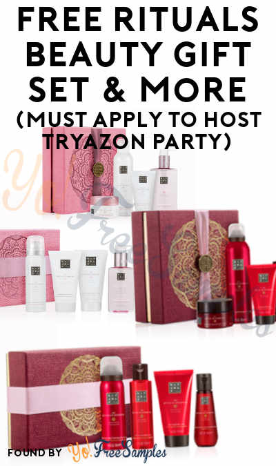 FREE Rituals Beauty Gift Set & More (Must Apply To Host Tryazon Party)
