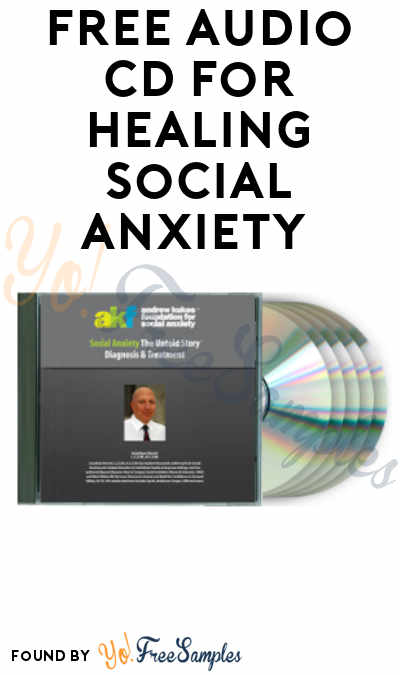 Overloaded: FREE Social Anxiety Audio CD