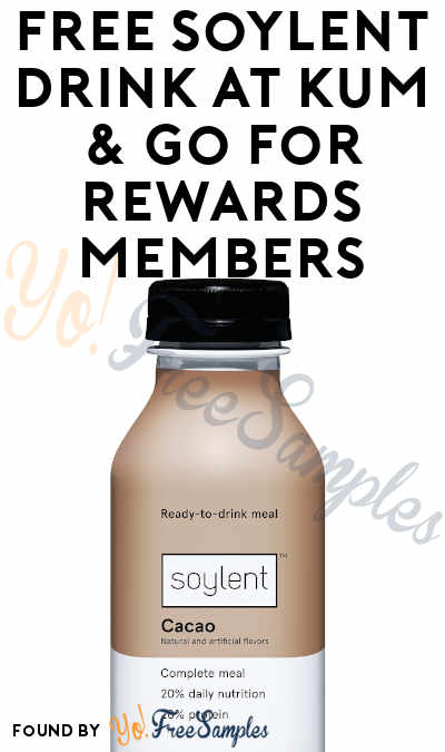 TODAY ONLY: FREE Soylent Drink At Kum & Go For Rewards Members