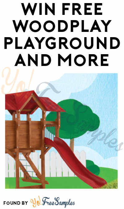 Win FREE Woodplay Playground and More in The Stonyfield Earth Month Sweepstakes