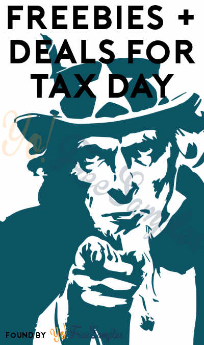FREE Tax Day Freebies 2019