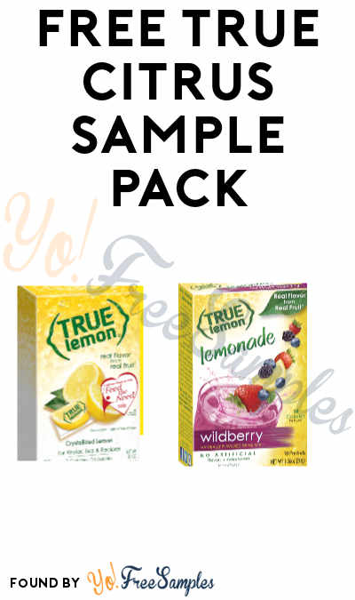 FREE True Citrus Sample Pack (Healthcare, Health Clubs, Schools, Groups and Events Only)