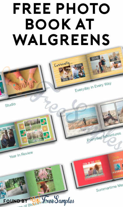 TODAY ONLY (4/21): FREE 5×7 Photo PrintBook At Walgreens