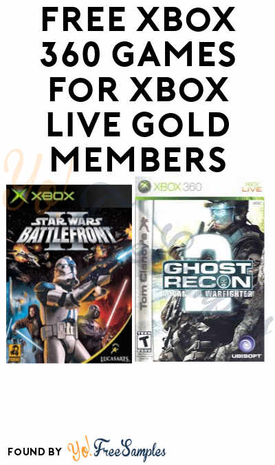 FREE Xbox 360 Games for Xbox Live Gold Members
